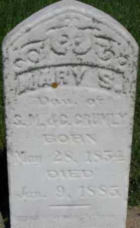 CRUMLY, MARY A. - Dixon County, Nebraska | MARY A. CRUMLY - Nebraska Gravestone Photos