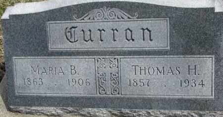 CURRAN, THOMAS H. - Dixon County, Nebraska | THOMAS H. CURRAN - Nebraska Gravestone Photos