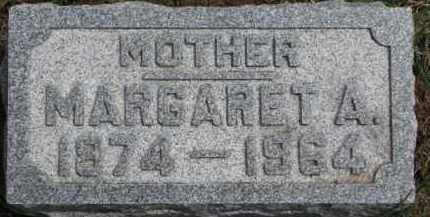 CURRAN, MARGARET A. - Dixon County, Nebraska | MARGARET A. CURRAN - Nebraska Gravestone Photos
