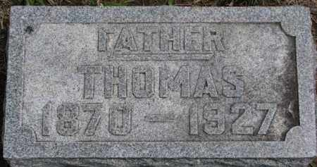 CURRAN, THOMAS - Dixon County, Nebraska | THOMAS CURRAN - Nebraska Gravestone Photos
