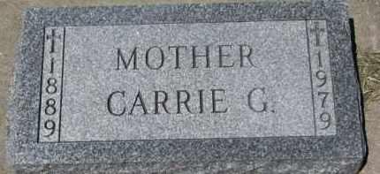DAY, CARRIE G. - Dixon County, Nebraska | CARRIE G. DAY - Nebraska Gravestone Photos