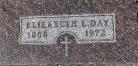 DAY, ELIZABETH L. - Dixon County, Nebraska   ELIZABETH L. DAY - Nebraska Gravestone Photos