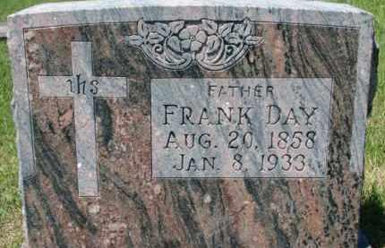 DAY, FRANK - Dixon County, Nebraska   FRANK DAY - Nebraska Gravestone Photos