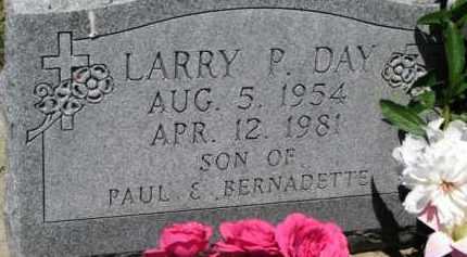 DAY, LARRY P. - Dixon County, Nebraska | LARRY P. DAY - Nebraska Gravestone Photos
