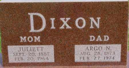 DIXON, ARGO N. - Dixon County, Nebraska | ARGO N. DIXON - Nebraska Gravestone Photos