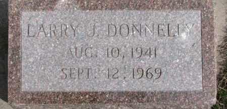 DONNELLY, LARRY J. - Dixon County, Nebraska   LARRY J. DONNELLY - Nebraska Gravestone Photos