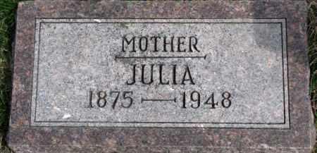 DORCEY, JULIA - Dixon County, Nebraska | JULIA DORCEY - Nebraska Gravestone Photos