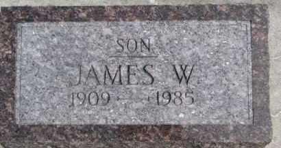 DORCEY, JAMES W. - Dixon County, Nebraska | JAMES W. DORCEY - Nebraska Gravestone Photos