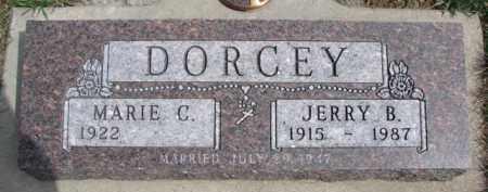 DORCEY, JERRY B. - Dixon County, Nebraska | JERRY B. DORCEY - Nebraska Gravestone Photos