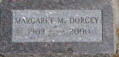 DORCEY, MARGARET M. - Dixon County, Nebraska   MARGARET M. DORCEY - Nebraska Gravestone Photos