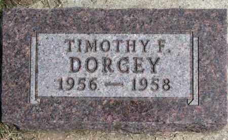 DORCEY, TIMOTHY F. - Dixon County, Nebraska | TIMOTHY F. DORCEY - Nebraska Gravestone Photos