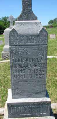 HOY DOUGHERTY, ANN MONICA - Dixon County, Nebraska | ANN MONICA HOY DOUGHERTY - Nebraska Gravestone Photos