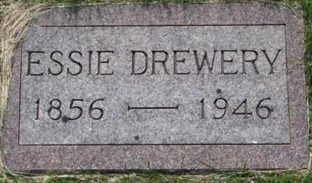 DREWERY, ESSIE - Dixon County, Nebraska | ESSIE DREWERY - Nebraska Gravestone Photos