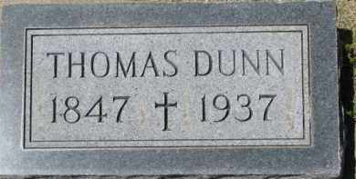 DUNN, THOMAS - Dixon County, Nebraska | THOMAS DUNN - Nebraska Gravestone Photos
