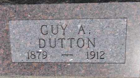 DUTTON, GUY A. - Dixon County, Nebraska | GUY A. DUTTON - Nebraska Gravestone Photos