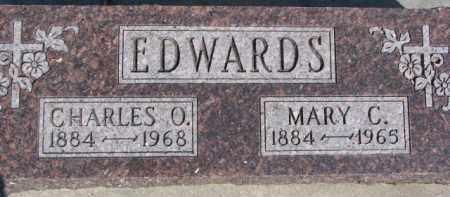 EDWARDS, MARY C. - Dixon County, Nebraska | MARY C. EDWARDS - Nebraska Gravestone Photos