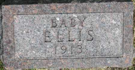 ELLIS, BABY 1913 - Dixon County, Nebraska | BABY 1913 ELLIS - Nebraska Gravestone Photos