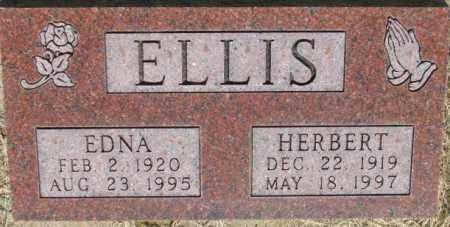 ELLIS, HERBERT - Dixon County, Nebraska | HERBERT ELLIS - Nebraska Gravestone Photos