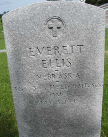 ELLIS, EVERETT - Dixon County, Nebraska   EVERETT ELLIS - Nebraska Gravestone Photos