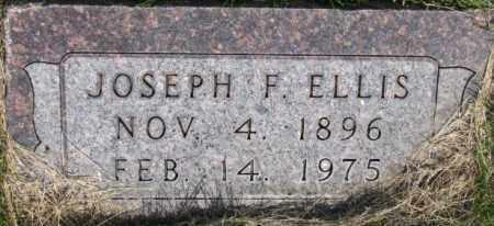 ELLIS, JOSEPH F. - Dixon County, Nebraska | JOSEPH F. ELLIS - Nebraska Gravestone Photos