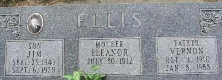 JOHNSON ELLIS, ELEANOR - Dixon County, Nebraska | ELEANOR JOHNSON ELLIS - Nebraska Gravestone Photos