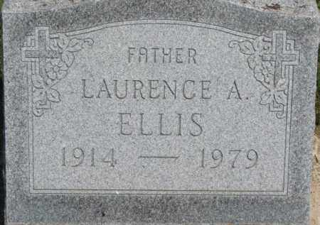 ELLIS, LAURENCE A. - Dixon County, Nebraska | LAURENCE A. ELLIS - Nebraska Gravestone Photos