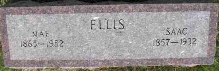 ELLIS, ISAAC - Dixon County, Nebraska | ISAAC ELLIS - Nebraska Gravestone Photos