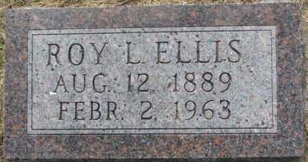 ELLIS, ROY L. - Dixon County, Nebraska | ROY L. ELLIS - Nebraska Gravestone Photos