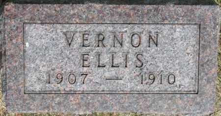 ELLIS, VERNON - Dixon County, Nebraska | VERNON ELLIS - Nebraska Gravestone Photos