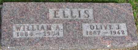 ELLIS, WILLIAM A. - Dixon County, Nebraska | WILLIAM A. ELLIS - Nebraska Gravestone Photos