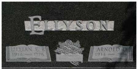 ELLYSON, ARNOLD D. - Dixon County, Nebraska   ARNOLD D. ELLYSON - Nebraska Gravestone Photos