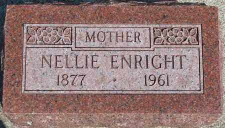 ENRIGHT, NELLIE - Dixon County, Nebraska | NELLIE ENRIGHT - Nebraska Gravestone Photos