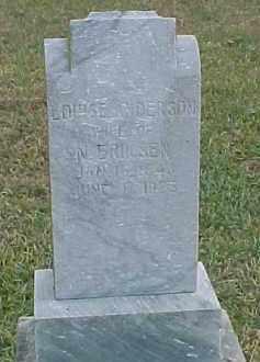 ERICKSEN, LOUISE - Dixon County, Nebraska | LOUISE ERICKSEN - Nebraska Gravestone Photos