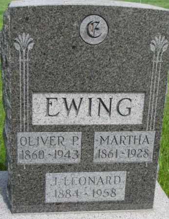 EWING, MARTHA - Dixon County, Nebraska | MARTHA EWING - Nebraska Gravestone Photos