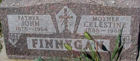 FINNEGAN, CELESTINE - Dixon County, Nebraska | CELESTINE FINNEGAN - Nebraska Gravestone Photos