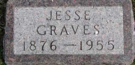 GRAVES, JESSE - Dixon County, Nebraska | JESSE GRAVES - Nebraska Gravestone Photos