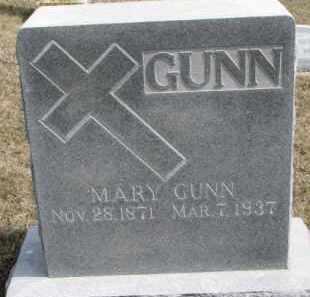 GUNN, MARY - Dixon County, Nebraska   MARY GUNN - Nebraska Gravestone Photos