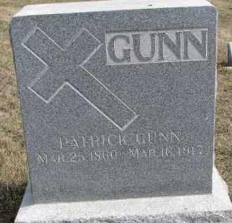 GUNN, PATRICK - Dixon County, Nebraska | PATRICK GUNN - Nebraska Gravestone Photos