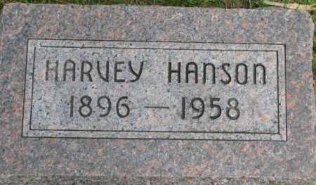 HANSON, HARVEY - Dixon County, Nebraska | HARVEY HANSON - Nebraska Gravestone Photos