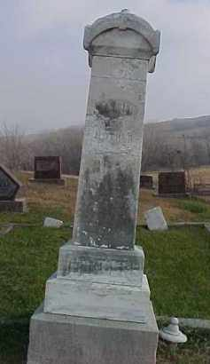 HARDER, KAROLINE WILHELMINA - Dixon County, Nebraska | KAROLINE WILHELMINA HARDER - Nebraska Gravestone Photos