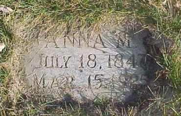 HARPER, ANNA M. - Dixon County, Nebraska | ANNA M. HARPER - Nebraska Gravestone Photos