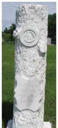 HARTSON, MARCUS - Dixon County, Nebraska | MARCUS HARTSON - Nebraska Gravestone Photos