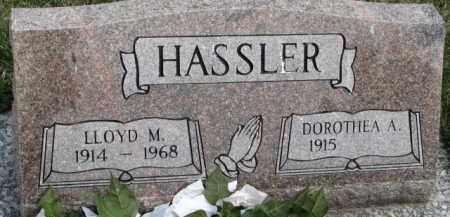 HASSLER, DOROTHEA A. - Dixon County, Nebraska | DOROTHEA A. HASSLER - Nebraska Gravestone Photos