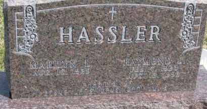 HASSLER, RAYMOND J. - Dixon County, Nebraska | RAYMOND J. HASSLER - Nebraska Gravestone Photos