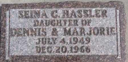 HASSLER, SEINA C. - Dixon County, Nebraska | SEINA C. HASSLER - Nebraska Gravestone Photos