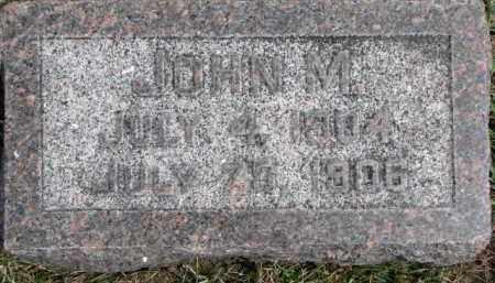 HESSEN, JOHN M. - Dixon County, Nebraska   JOHN M. HESSEN - Nebraska Gravestone Photos