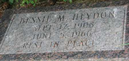 HEYDON, BESSIE M. - Dixon County, Nebraska | BESSIE M. HEYDON - Nebraska Gravestone Photos