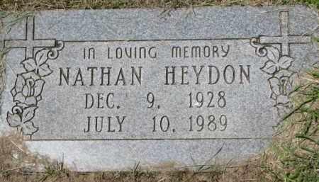 HEYDON, NATHAN - Dixon County, Nebraska | NATHAN HEYDON - Nebraska Gravestone Photos