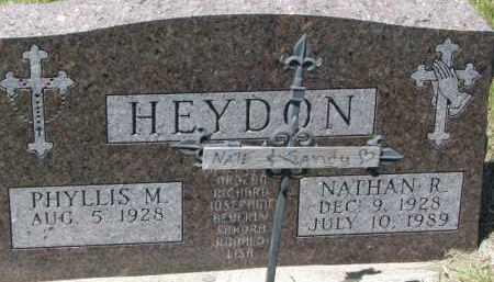 HEYDON, NATE - Dixon County, Nebraska | NATE HEYDON - Nebraska Gravestone Photos