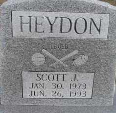 HEYDON, SCOTT J. - Dixon County, Nebraska | SCOTT J. HEYDON - Nebraska Gravestone Photos